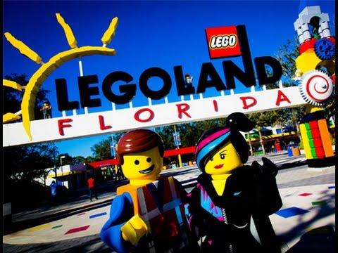 Legoland Florida, parque do Lego próximo de Orlando. Disney - YouTube