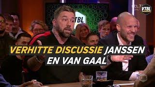 VTBL gemist? Verhitte duscussie Theo Janssen en Louis van Gaal
