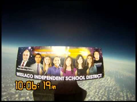WISD Makes History: Space Launch Balloon Flight...real time
