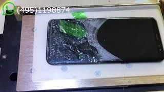 Como remover y cambiar el cristal glass Galaxy S8 rápido y fácil