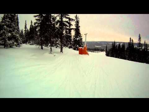 Trysil Ski Cam Ski GoPro Hero