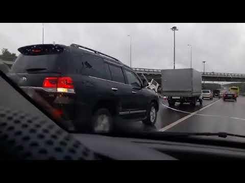 Киевское шоссе авария 5 октября.