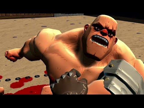 [GORN ] Virtual Reality Gladiator!?