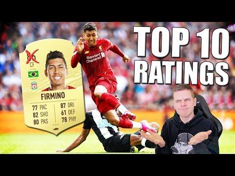 TOP 10 VOETBALLERS MET VERKEERDE FIFA 20 RATING!!