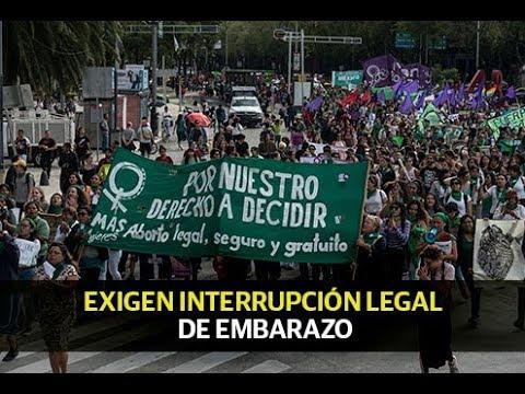 Se pronuncian a favor de la interrupción legal del embarazo