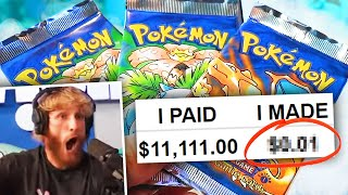 How Much is my $11,111 Pokemon Pack from Logan Paul REALLY Worth?