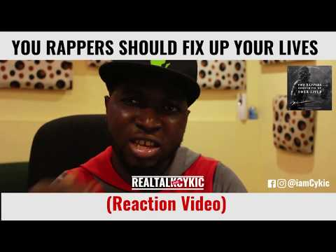 MI Abaga: You Rappers Should Fix up Your Lives (Video Reaction)