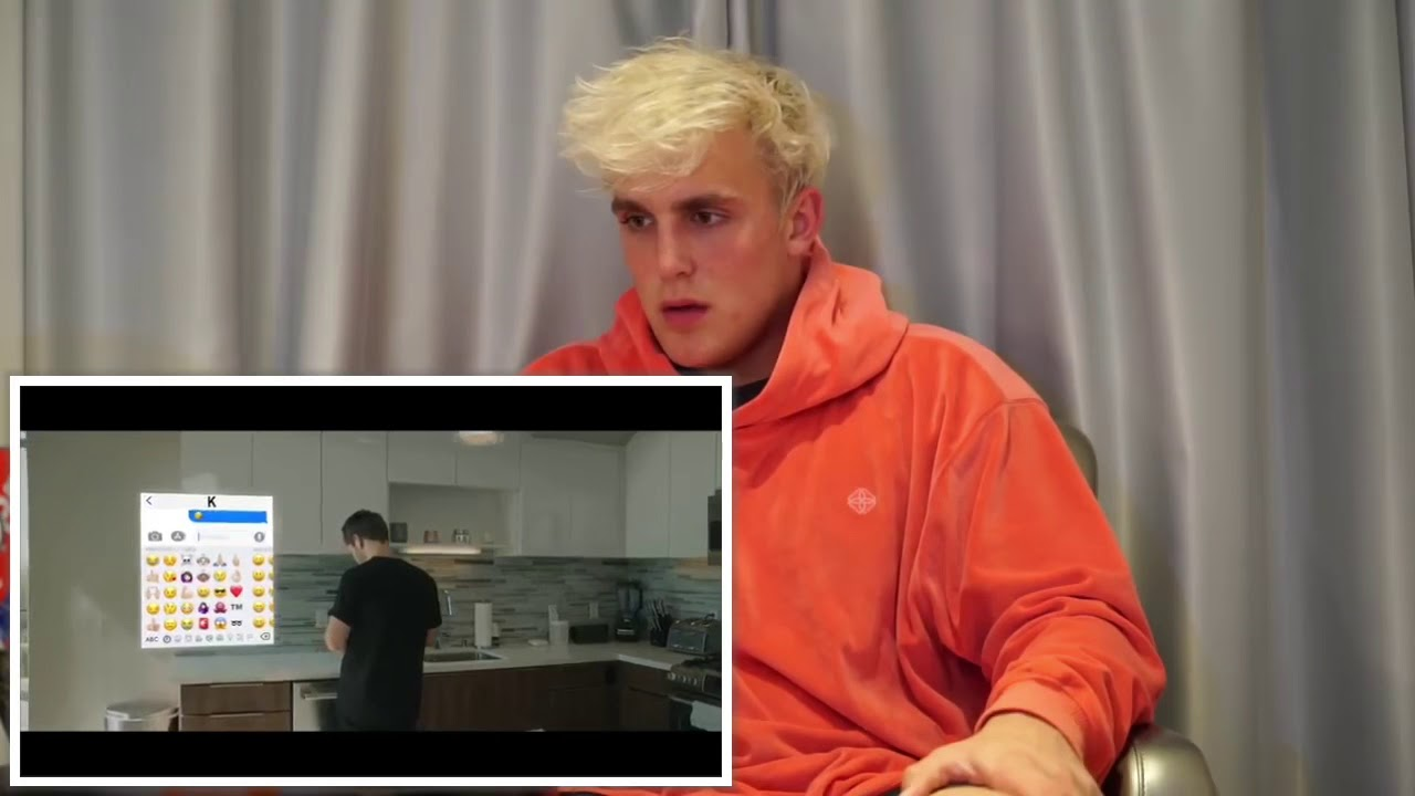 Jake Paul Reacts To Erika Costell Karma (Official Music Video)
