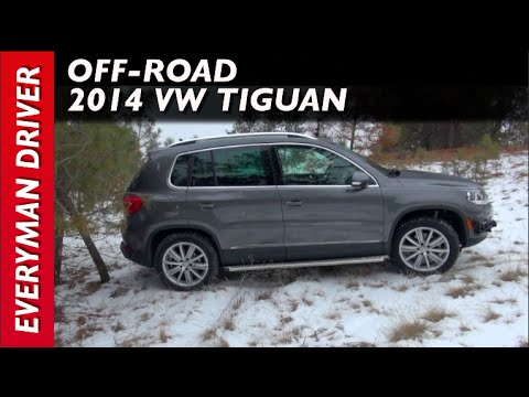 2014 Volkswagen Tiguan SNOWY Off-Road Review on Everyman Driver