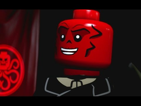 LEGO Marvel's Avengers 100% Guide - Chapter 3: Rail Hydra (All Minikits, Red Brick)