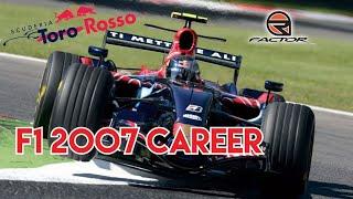 F1 2007 | CAREER #1 THE TEAM MATE'S COLLIDE!