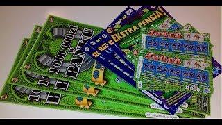 Zdrapki Lotto # 93  3x Milion w Banku 💰 6x Joker, 3x Szczęśliwe Linie i Ekstra Pensja 💪💪💪
