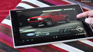 обзор Xperia Tablet Z  Overview Xperia Tablet Z