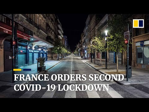 France aiming for 'brutal brake on infections' with its second national lockdown to fight Covid-19