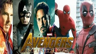 Avengers Infinity War : All 67 Characters