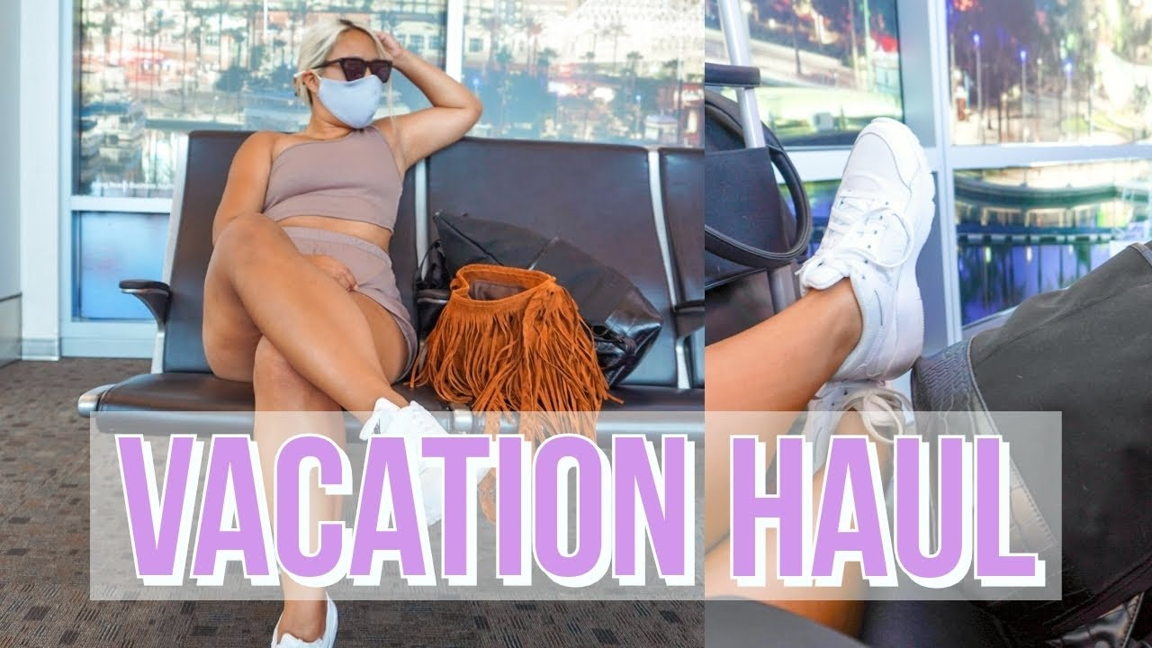 MYSTERY VACATION HAUL | Try-On Haul for Our Summer Vacation (Nasty Gal, Forever 21, Boohoo + More)