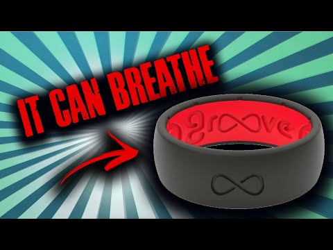 The Only Breathable Silicone Ring!  Groove Life.