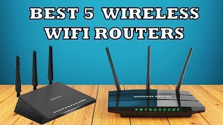 Best 5 Wireless WiFi Router in 2019 - Review | For fast Internet Connection