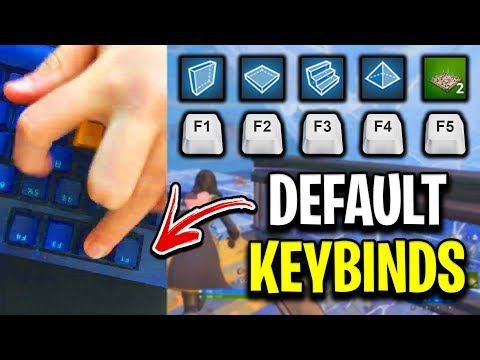 What Building On Default Keybinds Since Season 1 Looks Like!
