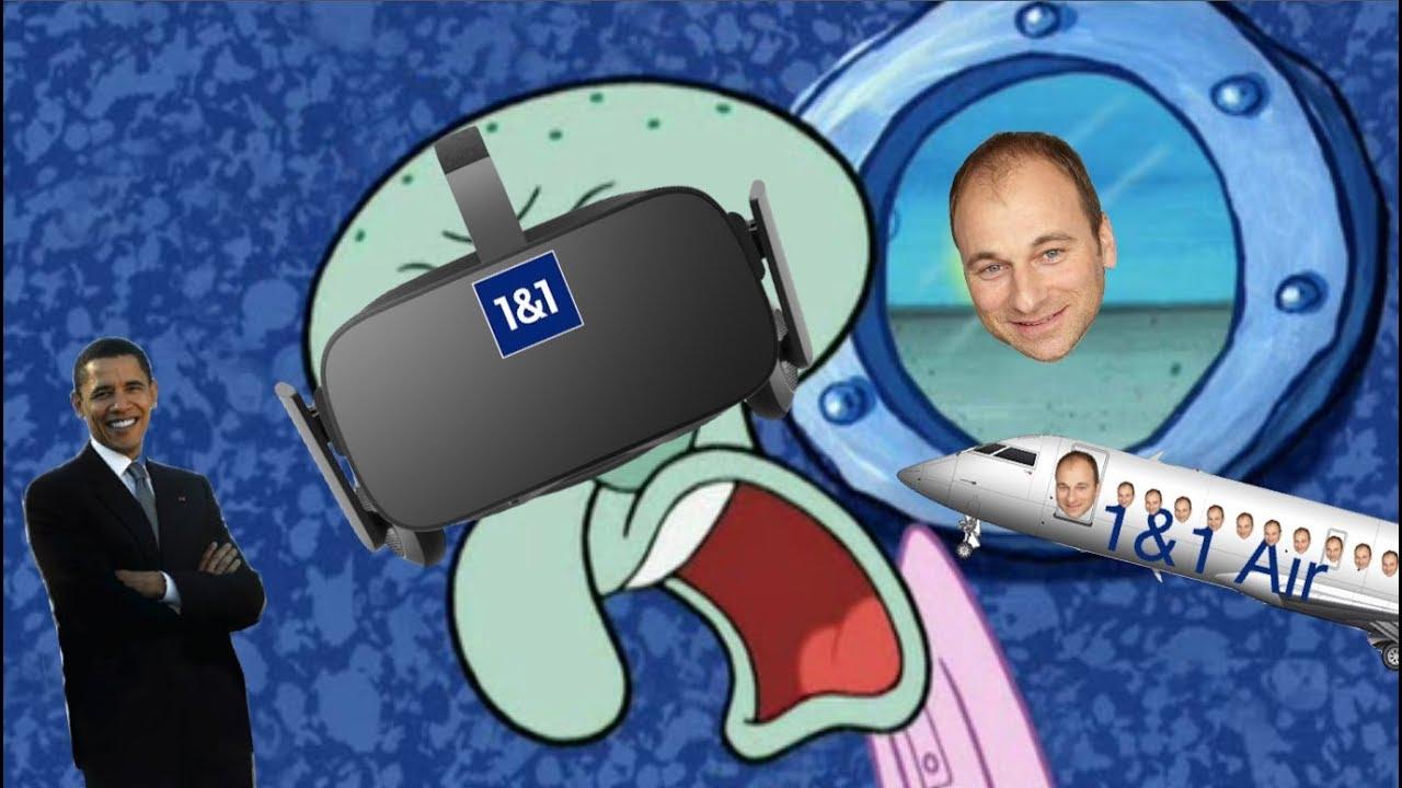 Thaddäus, Marcell D'Avis und Virtual Reality  -  Spongebob Verarsche