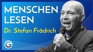 """""""Ich weiß, wie du tickst!"""" // Dr. Stefan Frädrich"""