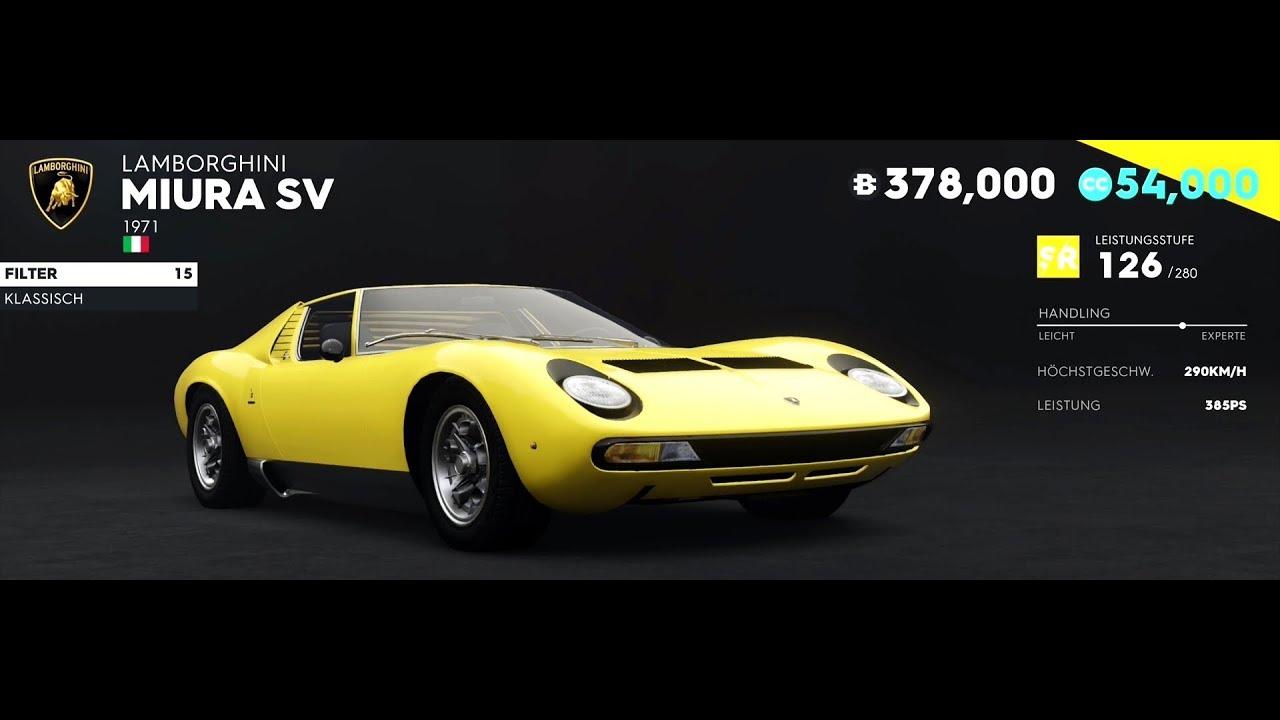 The Crew 2 Lamborghini Miura Sv 1971 385 Hp First Drive Test