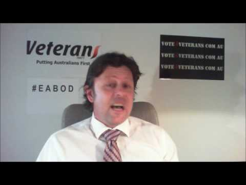 Veterans Party message to Australian Media
