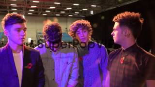 INTERVIEW - Union J on Remembrance Day at RAF Northolt on...