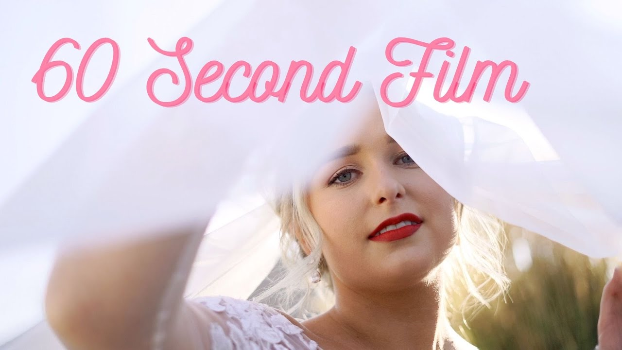Avery and Trevor's 60 Second Wedding Film