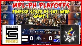 Walang Dab! Pero Malupet! Finesse Solid vs SXC Imba | MPL PH Season 2 Playoffs