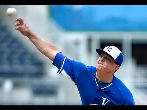 Royals Kris Medlen after throwing simulated game