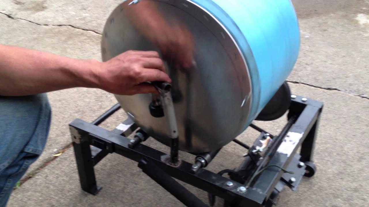 Big Blue Rock Tumbler - YouTube