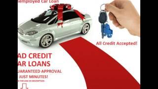 Unemployed Car Loans Bad Credit, Unemployed Auto Finance No Deposit