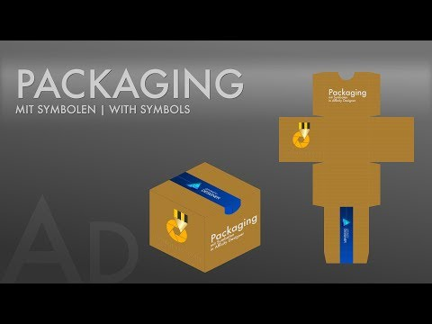 #16 Affinity Designer - Packaging mit Symbolen [ DEUTSCH ]