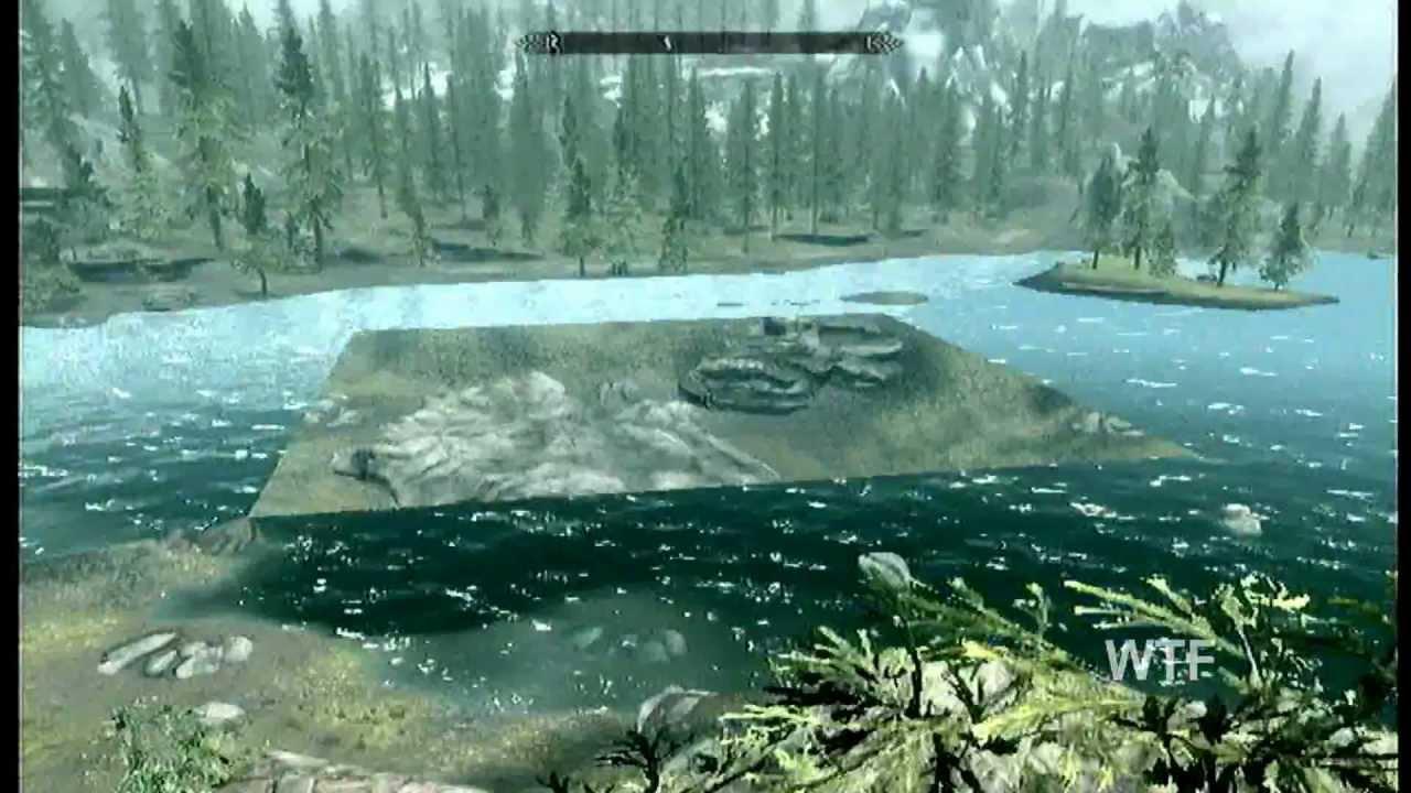 Skyrim: Water Texture Glitch!