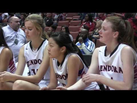 CIF-SS Div. 3-AA Girls Basketball Final Glendora vs Thousand Oaks