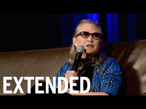 Carrie Fisher Talks 'Star Wars', 'Wishful Drinking' Show & Daughter | EXTENDED