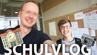 IN DER SCHULE VLOGGEN! Lehrer nimmt Kamera! #10k - Daily Vlog 21