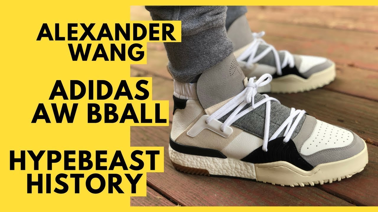reputable site 7cf7b b1776 Alexander Wang Adidas AW BBALL History, Unboxing, Review, On Feet, and  Sizing and Fit
