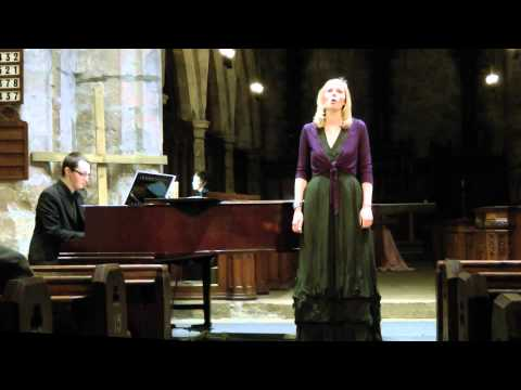 Lucy Mair sings Tagore in English