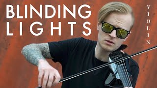 Blinding Lights (The Weeknd) ON VIOLIN - Nike Demin