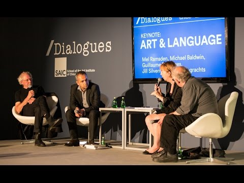 EXPO CHICAGO 2016 /Dialogues: ART & LANGUAGE Symposium | Keynote: ART & LANGUAGE