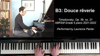 B:3 Douce rêverie (ABRSM Grade 5 piano 2021-2022)