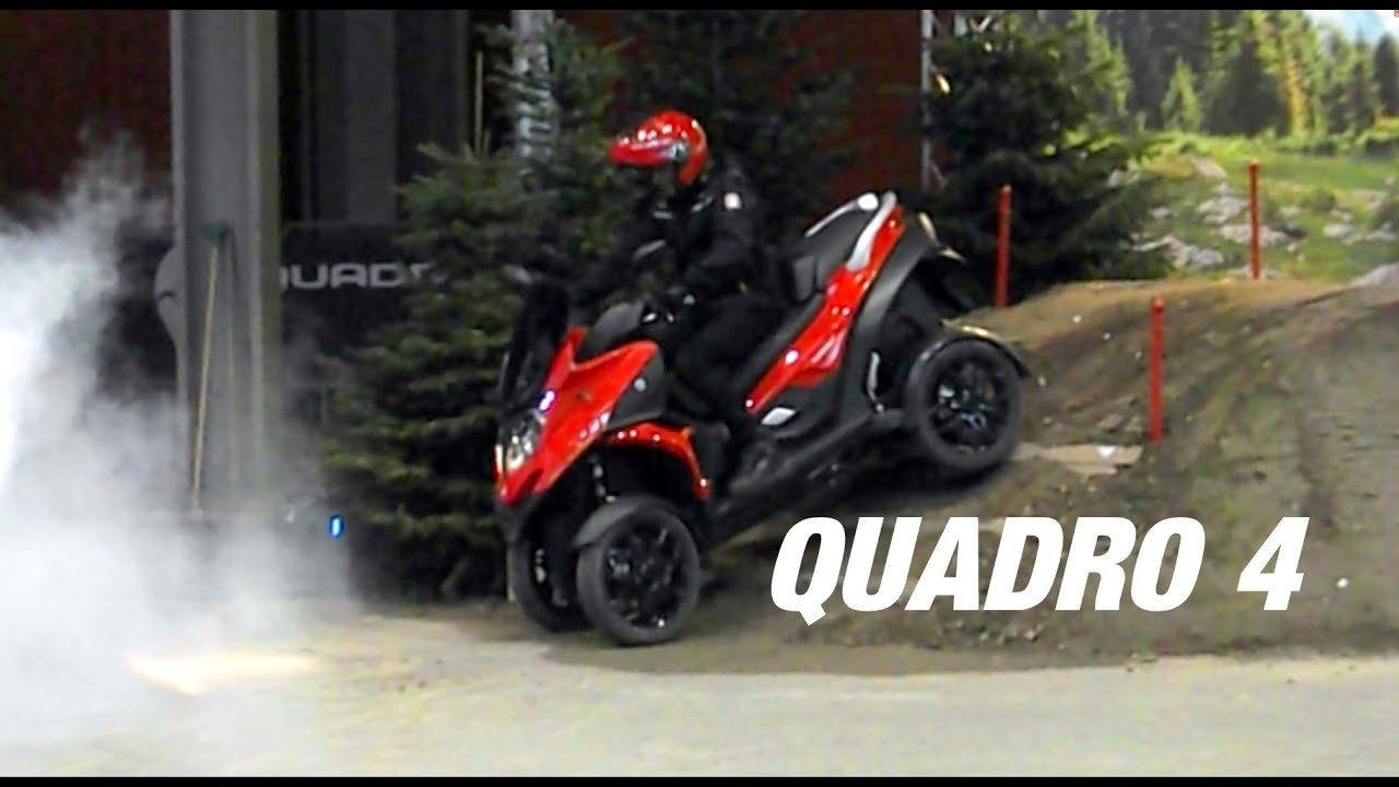 TEST QUADRO 4 EICMA Off Road TEST & Review - YouTube