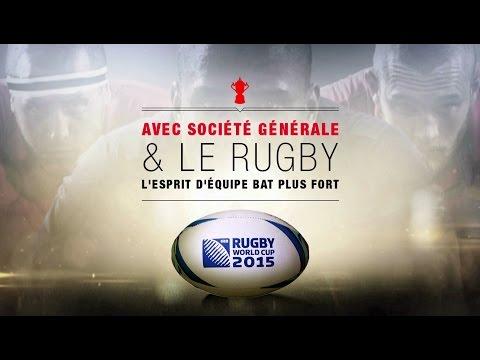 Société Générale engage ses communautés avec la Coupe du Monde de Rugby