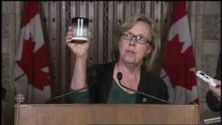Elizabeth May Roasts Northern Gateway Approval