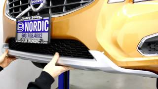 ipd Volvo Dynamic Trim Kit Front Bumper Cover Installation Instructions 2011- S60