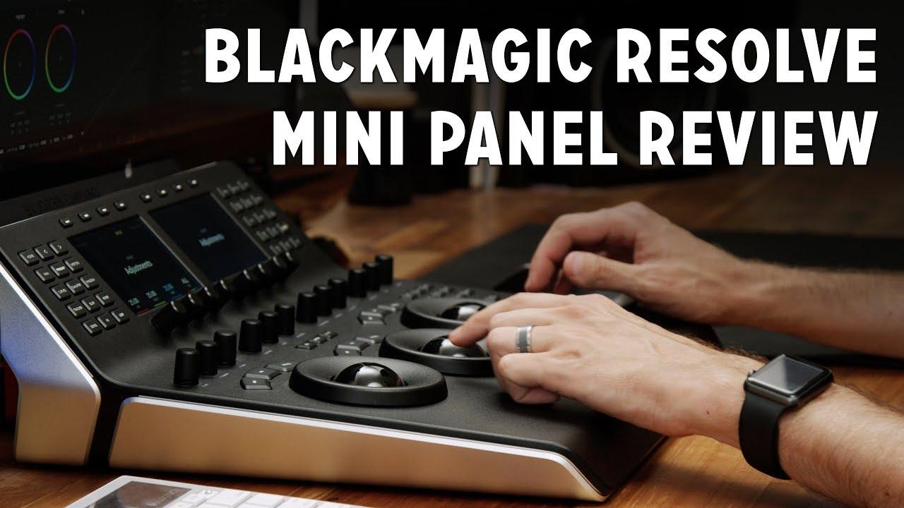 Blackmagic Davinci Resolve Mini Panel Review Youtube