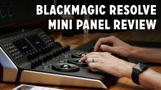 Blackmagic DaVinci Resolve Mini Panel Review