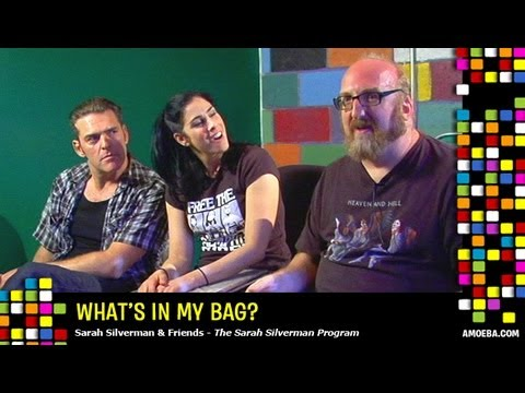 The Sarah Silverman Program  What's In My Bag?